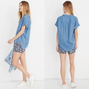 Madewell Plus Size Central Short Sleeve Shirt